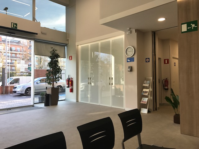 Sala de espera local Asepeyo