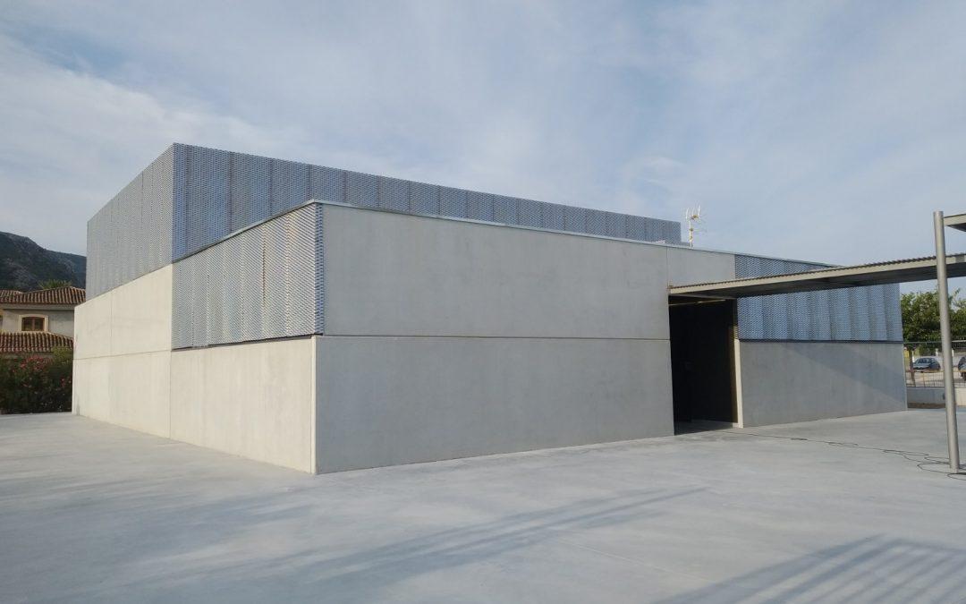 Construcción de gimnasio y ascensor adaptado en el colegio CEIP l'Alfas de Pedreger