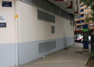Rehabilitación centro de salud Calle Bilbao en Valencia