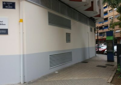 Fachada exterior centro de salud