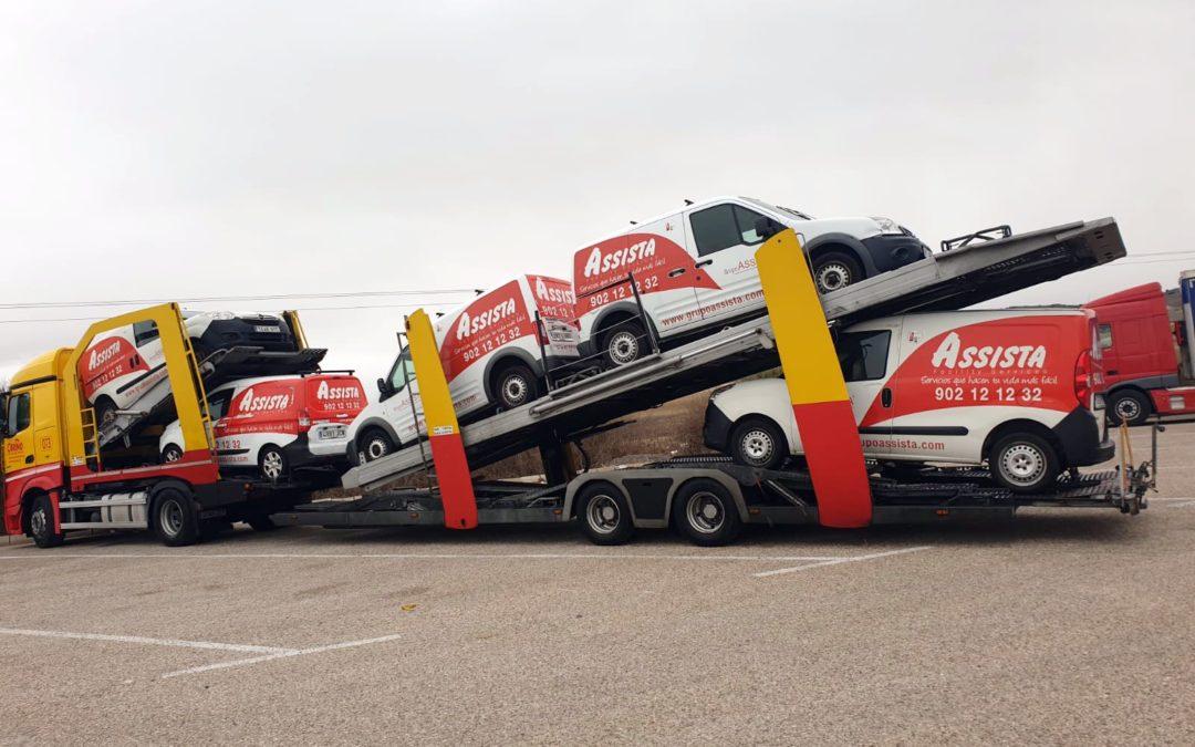 Ampliamos nuestra flota de vehículos en Desentop (Portugal)