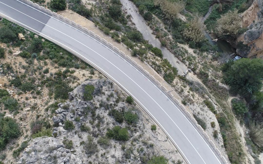 Estabilización de las laderas anexas a la carretera CV-580