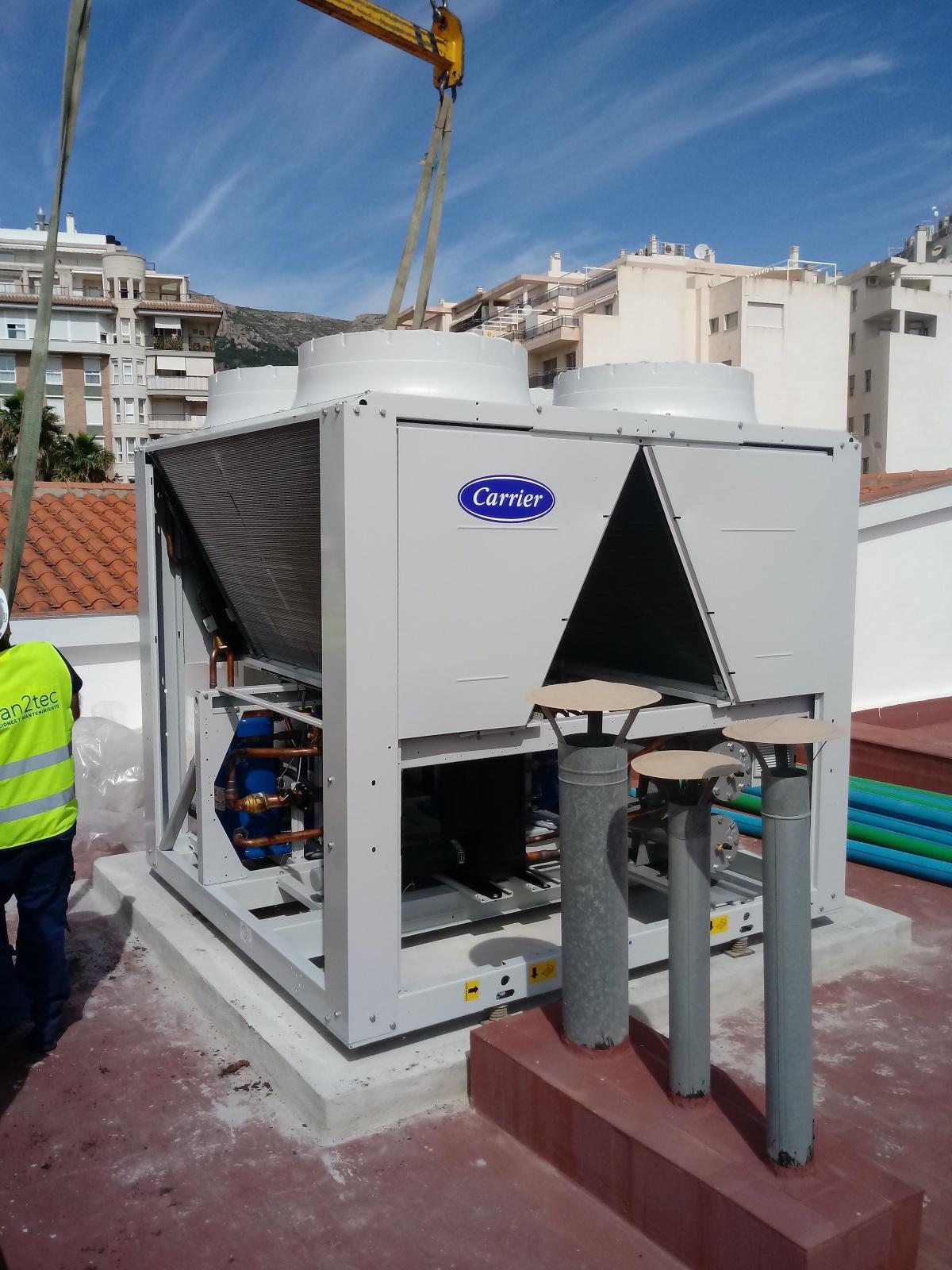 Mejora eficiencia energética Grupo Assista