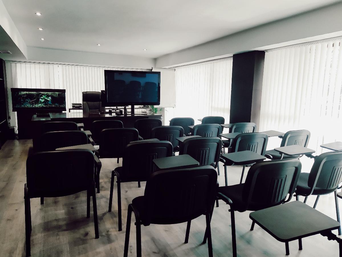 Sala de formación en Valencia