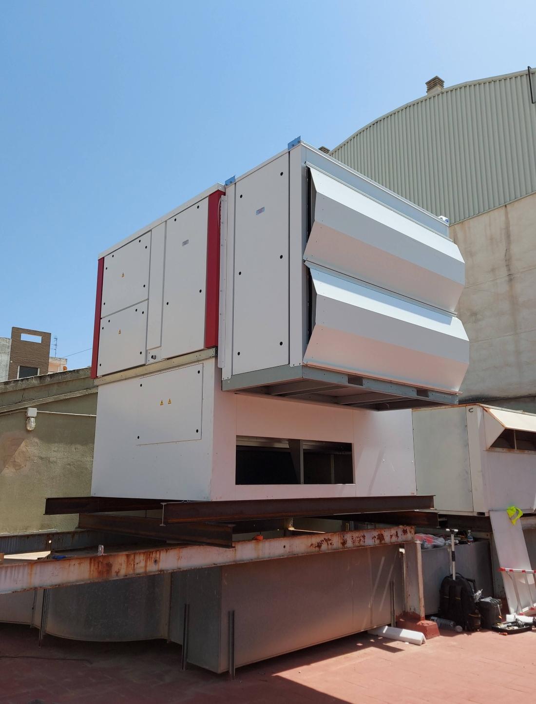 Instalación sistema de climatización