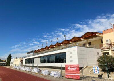 Ampliación y construcción de gimnasio en Zaragoza