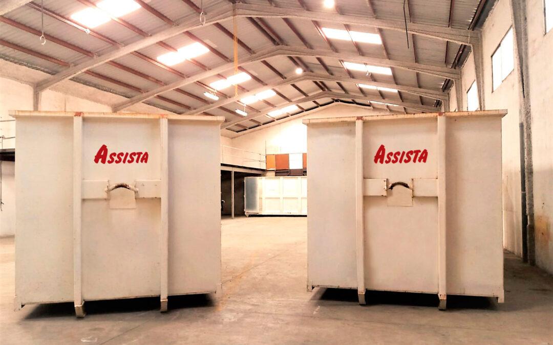 Assista adquiere un almacén para la gestión de sus residuos