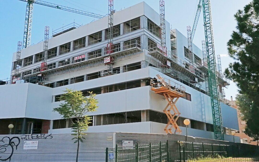 Construcción Clínica Universitaria en Murcia