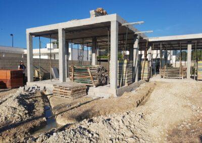 Construcción de vivienda unifamiliar en Xàtiva (Valencia)