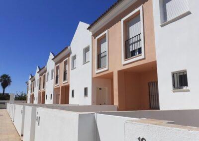 Adecuación de 20 viviendas unifamiliares en Jerez
